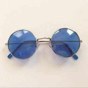 Retro circle round sunglasses